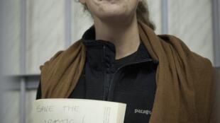 A bióloga gaúcha, Ana Paula Maciel, está detida desde 19 de setembro na Rússia.