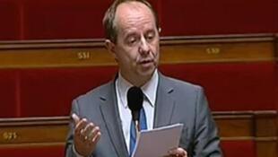 Jean-Jacques Urvoas, député du Finistère et secrétaire national à la sécurité au Parti Socialiste