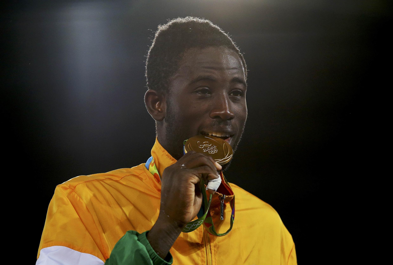 Cheikh Cissé ramène l'or en taekwondo pour la Côte d'Ivoire.