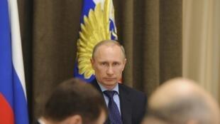 Vladimir Poutine, le 12 mars 2014.