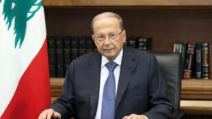 Rais wa Lebanon Michel Aoun.