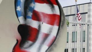 美国国安局对位于华盛顿的38国大使馆进行窃听
