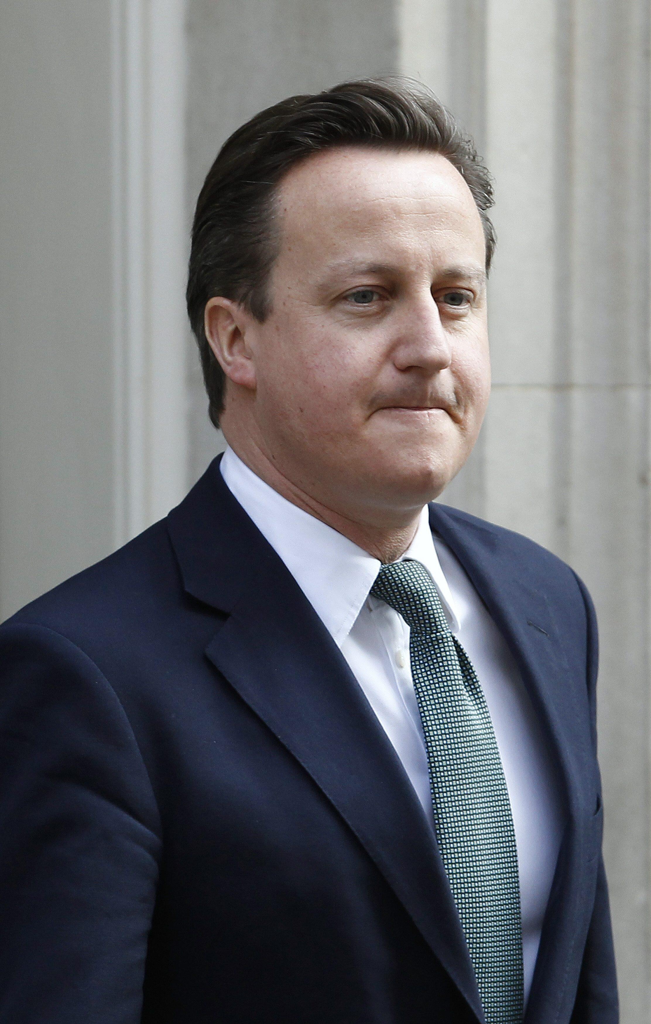 El premier británico David Cameron, este 21 de marzo de 2012.