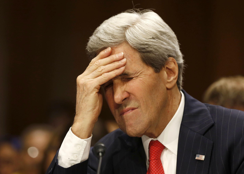 Waziri wa mashauri ya kigeni wa Marekani,  John Kerry.