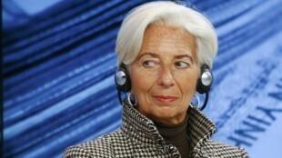 A francesa Christine Lagarde recebeu vários apoio de vários países para sua candidatura a um segundo mandato à frente do FMI.