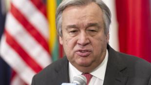 Antonio Guterres, ex-Alto Comissário da ONU para os refugiados.