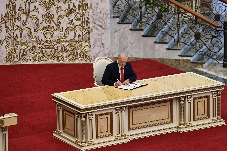 الکساندر لوکاشنکو رئیس جمهوری بلاروس