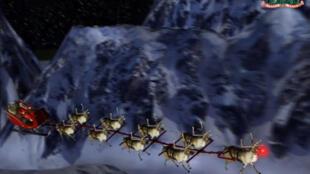 À la suite d'une erreur dans une publicité, le service téléphonique du Norad (Commandement de la défense aérospatiale de l'Amérique du Nord) avait dû répondre aux questions des enfants concernant le Père Noël. C'était en 1955 et la tradition perdure !
