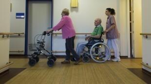 L' EHPAD accueille les anciens sans-abris.
