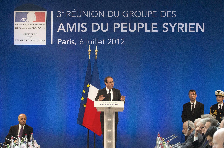 សន្និសីទរបស់ប្រទេសមិត្តស៊ីរីក្រោមអធិបតីភាពរបស់លោកប្រធានាធិបតីបារាំង លោកFrançois Hollande ក្នុងទីក្រុងប៉ារីស