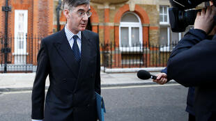 Jacob Rees-Mogg in London, 29 March 2019.