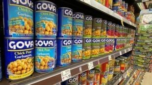 L'enseigne de produits alimentaires hispaniques Goya est visé par une campagne de boycott.