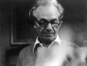 El poeta chileno Nicanor Parra.