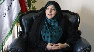 معصومه ابتکار، معاون رئیس جمهور و رئیس پیشین سازمان حفاظت محیط زیست ایران.