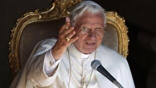 Pope Benedict XVI expressed shame over abuse allegations