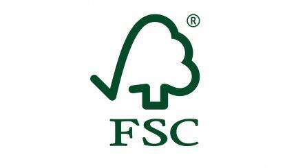 Logo de la FSC (Forest Stewardship Council )