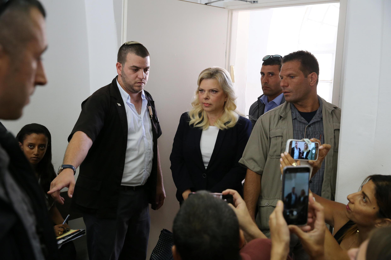 سارا نتانیاهو همسر نخست وزیر اسرائیل در دادگاه