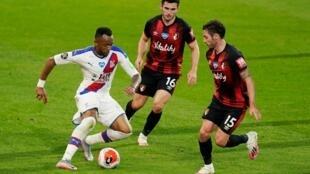 Le Ghanéen Jordan Ayew a inscrit le 25e but de sa carrière en Premier League avec Crystal Palace contre Bournemouth, le 20 juin 2020.