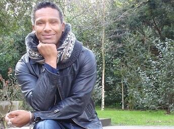 O coreografo e bailarino Benvindo Fonseca