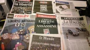 Diários franceses 08/01/2015