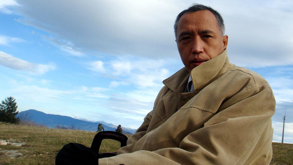 Ông Trương Luân, một trong những gương mặt đấu tranh phong trào Thiên An Môn 1989.