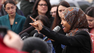 Ilhan Omar, parlementaire démocrate à la Chambre des représentants, le 7 février 2019 à Washington.