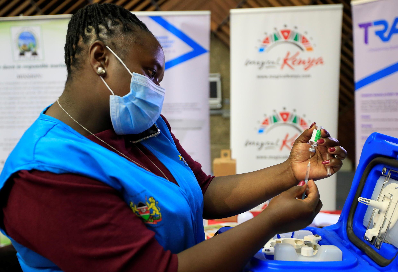 Kenya Vaccin Astrazeneca