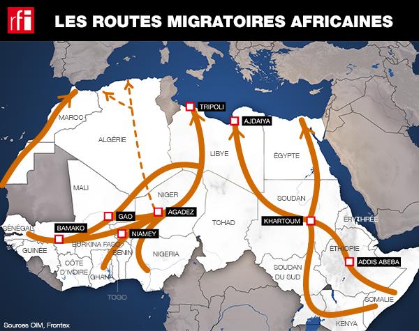 Les migrants africains sont de plus en nombreux à vouloir entrer en Europe.