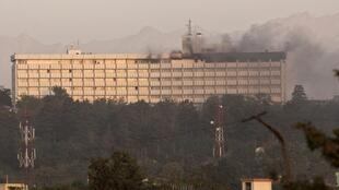 Explosions at the Kabul Intercontinental hotel