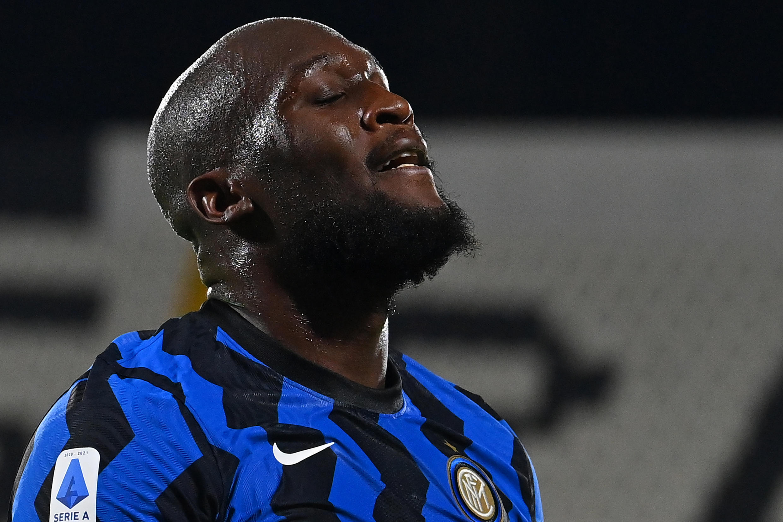 Inter Milan's top-scorer Romelu Lukaku drew a blank at Spezia