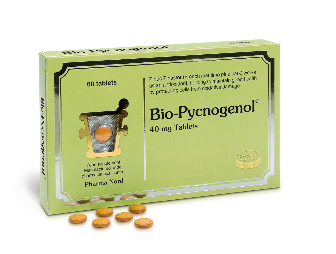 Pycnogenol se comercializa en muchos países del mundo y en diferentes presentaciones.