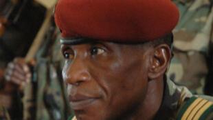 Moussa Dadis Camara, président du Conseil national de démocratie et de développement(CNDD), au pouvoir depuis le 23décembre 2008.