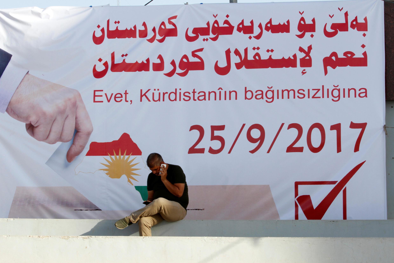 Cộng đồng người Kurdistan tại Irak được kêu gọi tham gia trưng cầu dân ý 25/09/2017 đòi độc lập.