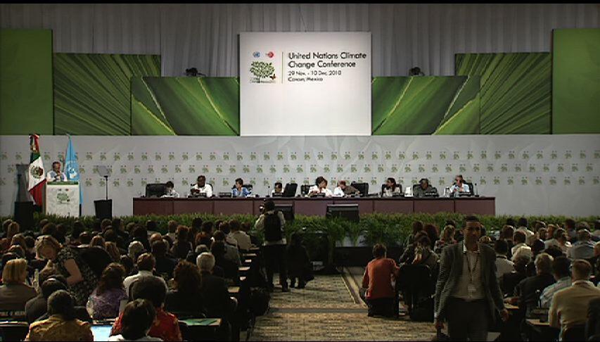 Conferência de Cancún sobre o clima termina com acordo modesto.