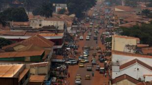 Bangui, la capitale de la Centrafrique (image d'illustration).