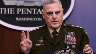 ژنرال مارک میلی، رییس ستاد مشترک ارتش آمریکا