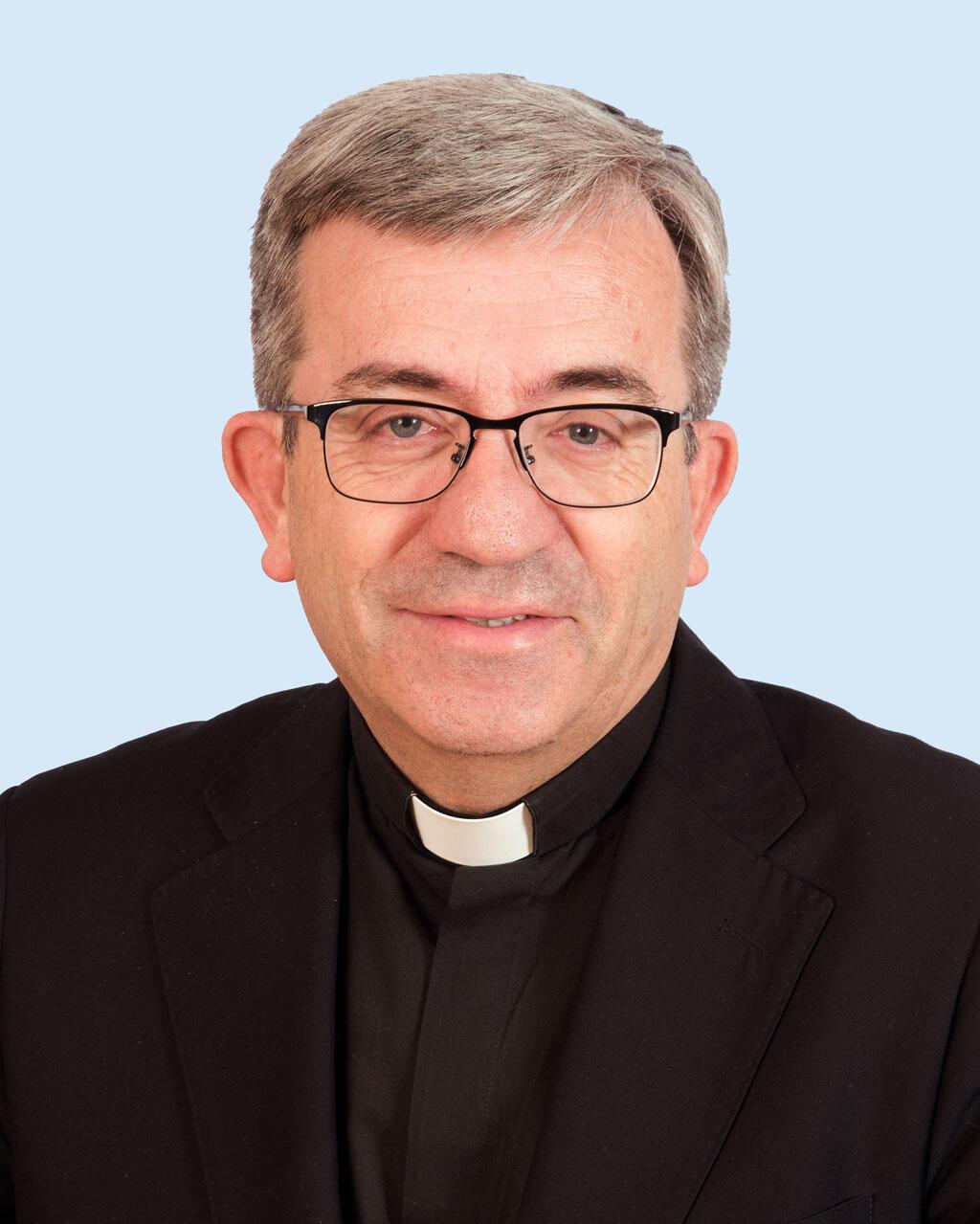 Monseigneur Luis Arguello, secrétaire général de l'Eglise épiscopale espagnole.