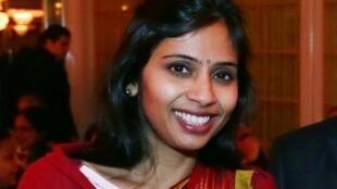 hó lãnh sự Ấn Độ  Devyani Khobragade, ảnh chụp tại  New York, ngày  8/12/ 2013.