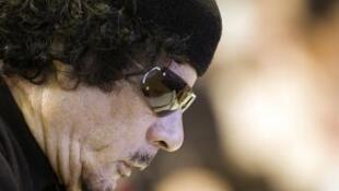 Mouammar Kadhafi en 2009.