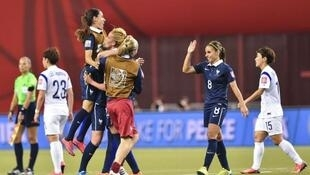 France made it to the quarter-finals of the women's world cup last year. The US won the competition by beating Japan 5-2 in the final.