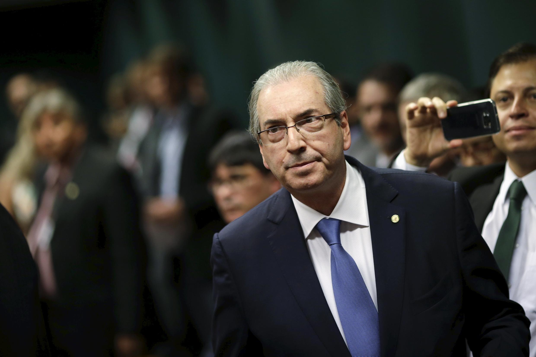 Le président de la chambre des députés au Brésil, Eduardo Cunha.