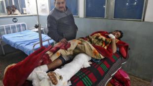 印巴冲突,印控克什米尔受伤人员。