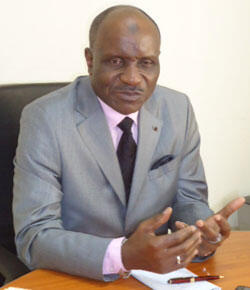 El Hadj Djibril Bopaka, président du Conseil superieur islamique du Congo Brazzaville.
