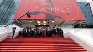 Minuto de silencio por las víctimas del antentado de Manchester en Festival de Cannes (Francia)