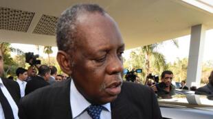 Le président de la CAF Issa Hayatou.