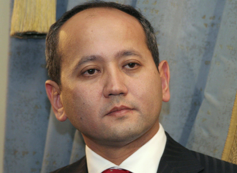 Казахский олигарх-диссидент Мухтар Аблязов. Алма-Ата 27/11/2006 (архив)