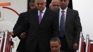 Mahmud Abbas llegó el 9 de octubre a  Colombia, país estratégico en el marco de su campaña por la adhesión de un  Estado de Palestina a la ONU, dado que el país sudamericano es actualmente  miembro no permanente del Consejo de Seguridad.