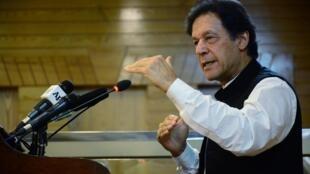 巴基斯坦總理伊姆蘭·汗資料圖片