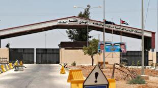 La frontière jordanienne, au niveau de la ville de Mafraq, le 7 juillet 2018.