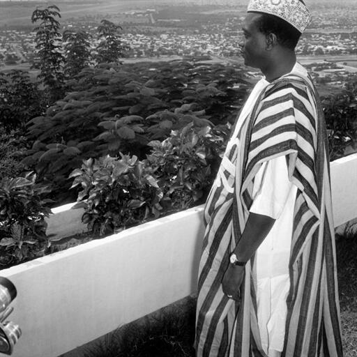 Dans les années 60. Modibo Keita, premier président du Mali.
